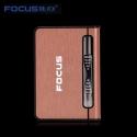 Focus Zigaretten-Etui-Spender mit Butan Jet Torch Feuerzeug (Hält 10) PINK