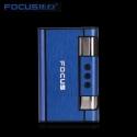 FOCUS Sigarett Tilfelle Dispenser med Butan Jet Torch Lettere (Holder 8) BLÅ