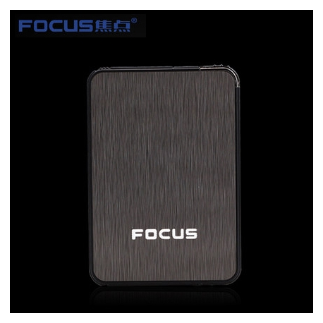 FOCUS Cigarette Box Case Black B6