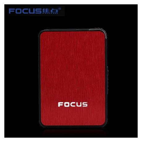 FOCUS Sigarett Boksen Tilfelle Røde B6