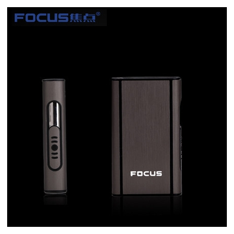 FOCUS box Cigarette lighter without B10R Case Black