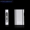 FOCUS box Cigarette lighter without B10R Case Silver