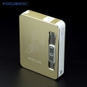 USB cigarette Case Gold
