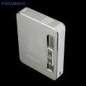USB Cigarette Case silver