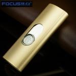 Focus USB Feuerzeug Schöne C Gold