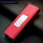 Briquet Focus USB LOVELY S Rouge
