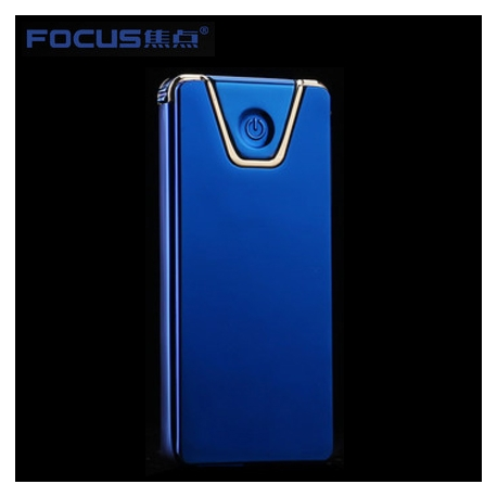 Focus Metal USB electric lighter - Edge Blue
