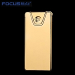 Focus Metal USB electric lighter - Edge Gold