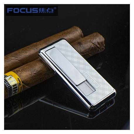 Focus Metal USB electric lighter - LUXOR Silver