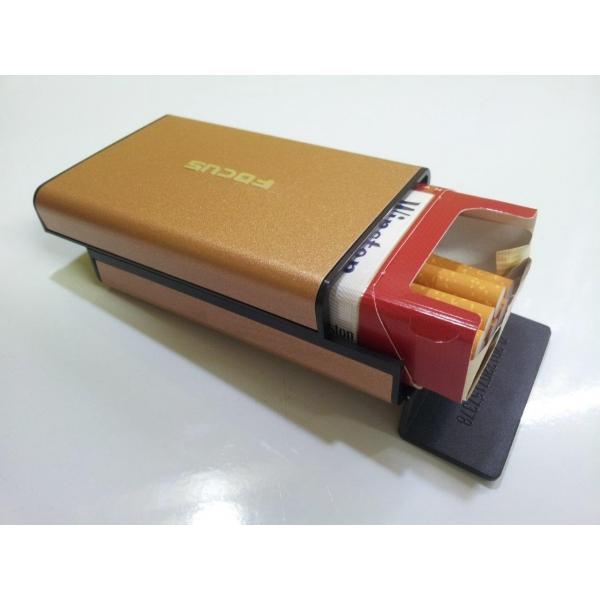 Boite A Paquet De Cigarette etui pour paquet 20 cigarettes or - focus