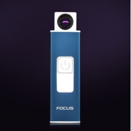 Focus USB lighter Key Blue