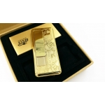 Focus Metal USB electric lighter - LUXOR Gold