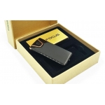 Focus Metal USB electric lighter - Edge Black