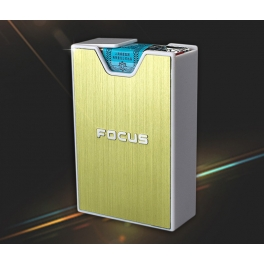 Cigarette Box for soft pack Gold