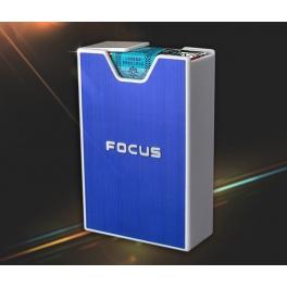 Cigarette Box for soft pack blue