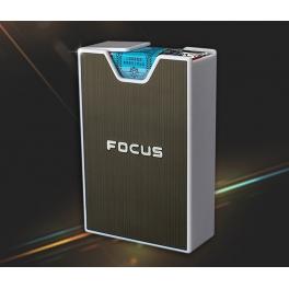 Cigarette Box for soft pack Black