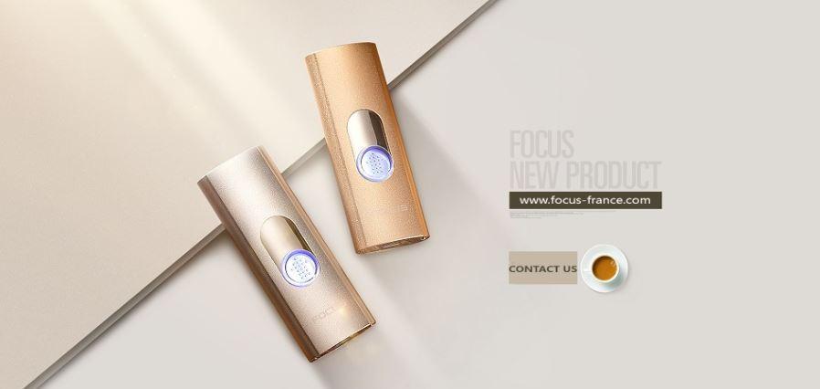 Nouveau Briquet USB Focus