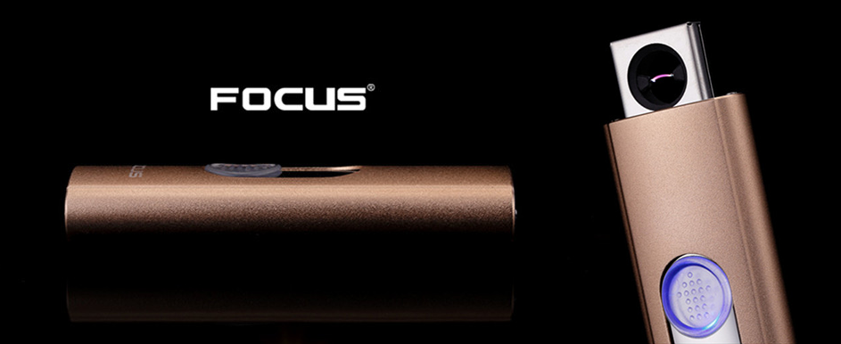 Briquet arc Electrique Focus modèle Lovely C Or