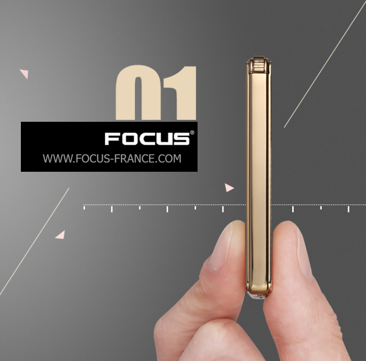 Briquet Focus Edge or